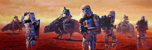 Sand Troopers and Dewbacks are on the hunt