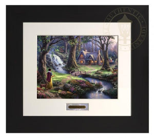 Espress Frame - Snow White comes upon the small cottage hidden within the forest.