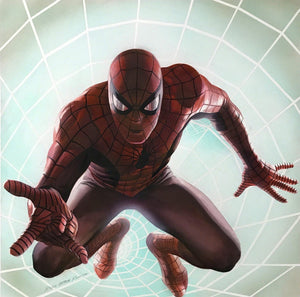 A photorealistic style rendering of Spider-Man