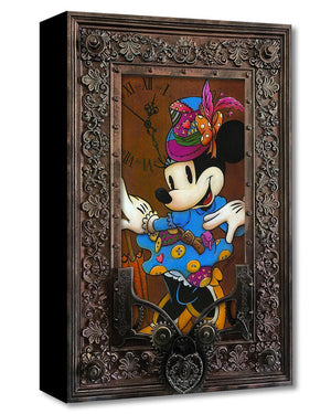 Steam Punk Minnie | Disney Treasures.  Art Style: Pop.  Signed by artist Krystiano DaCosta