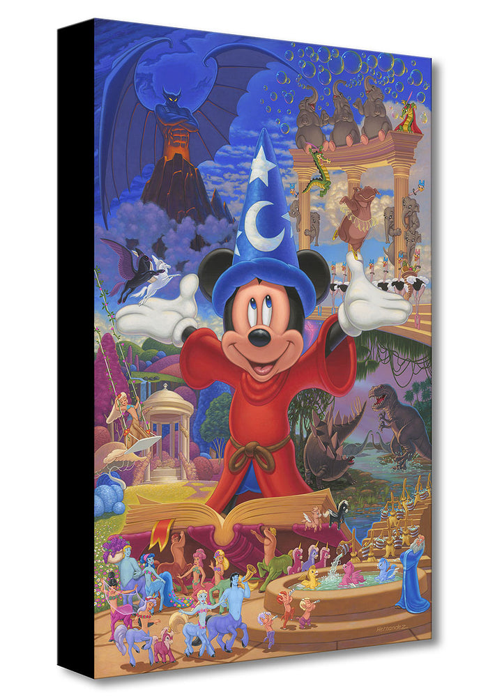 Story of Music and Magic  - Treasures on Canvas