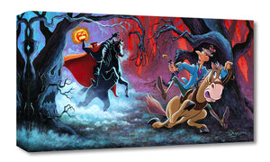 The Witching Hour by Tim Rogerson.  The Headless Horseman chases Ichabod Crane