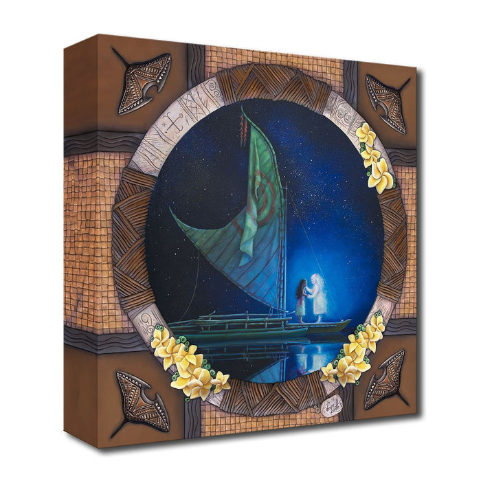 Grandma's Embrace - Disney Treasures On Canvas