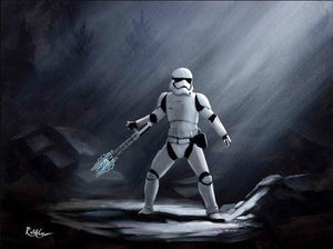 Stormtrooper, known as TR-8R.