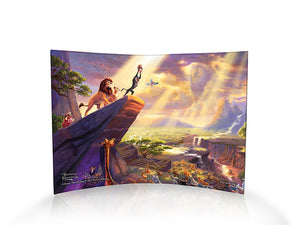 Disney – The Lion King by StarFire Prints™ Curved Glass