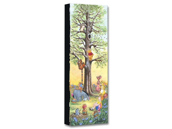 Tree Climbers - Disney Treasures On Canvas