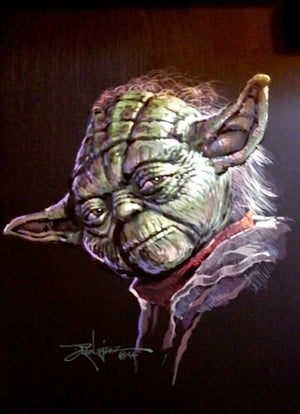 Portrait of Yoda