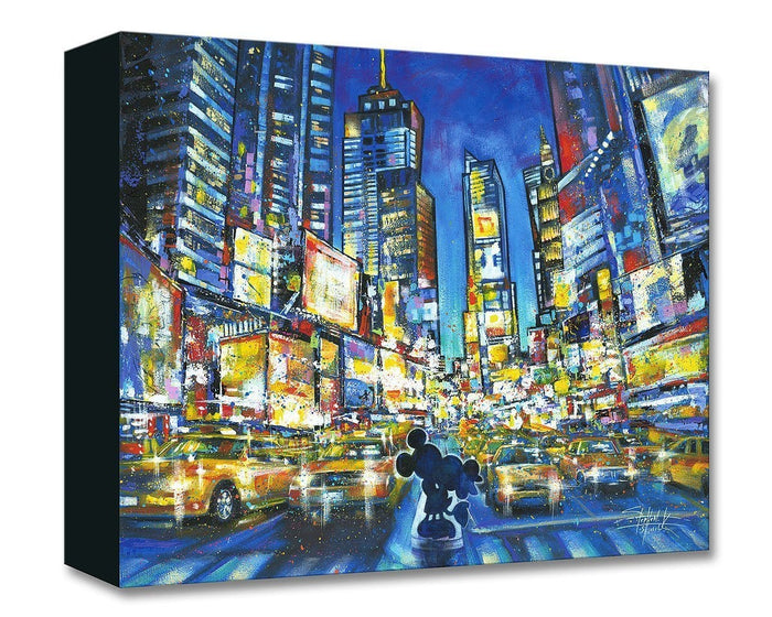 You, Me and the City - Disney Treasures On Canvas