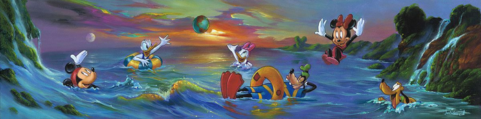 A Swim in the Sea - Disney Limited Edition