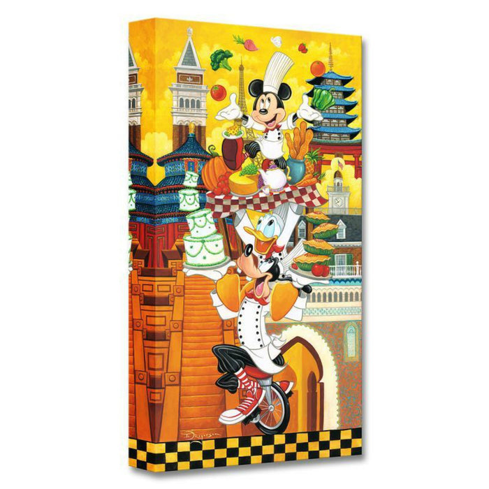 A World of Flavor - Disney Treasures On Canvas