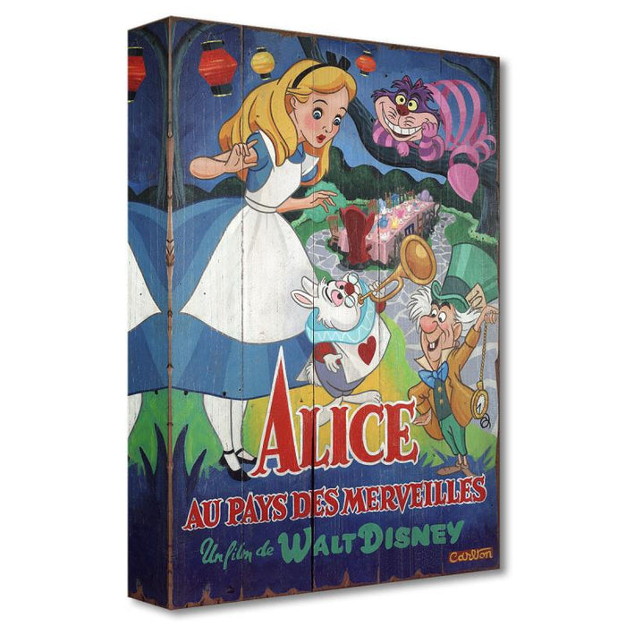 A Date with Wonderland - Disney Treasures On Canvas
