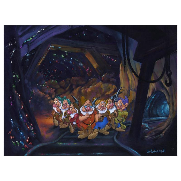 After a Hard Day's Work - Disney Limited Edition