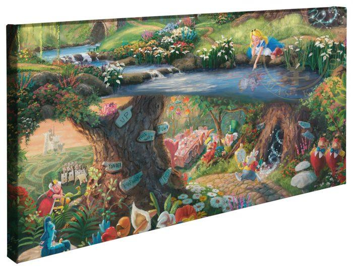 Alice in Wonderland - Gallery Wrap Canvas