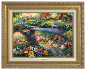 Alice In Wonderland- Antique Gold Frame