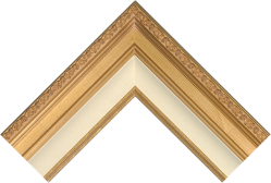 Antique Gold Frame Corner Sample