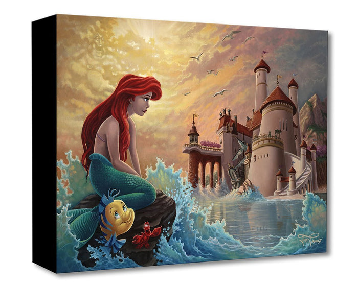 Ariel's Daydream - Disney Treasures On Canvas