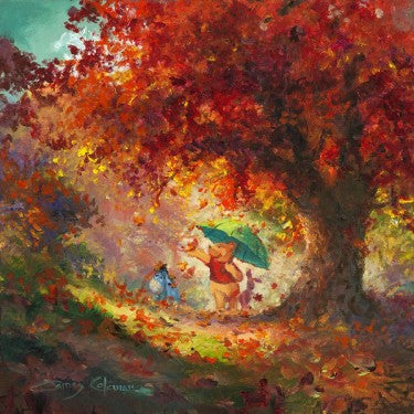 Autumn Leaves Gently Falling - Disney Originals