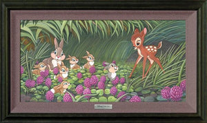 Bambi meets Thumper and his friends.