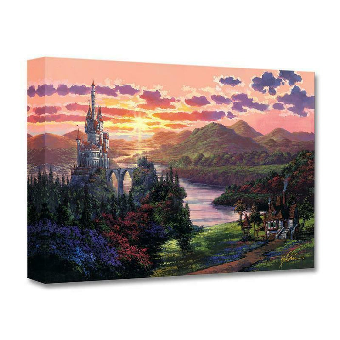 The Beauty in Beast's Kingdom - Disney Treasures On Canvas
