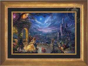 Beauty and the Beast Dancing in the Moonlight - Limited Edition