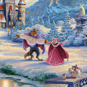 Beauty and the Beast's Winter Enchantment - Closeup 2