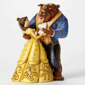 Belle and Beast Dancing - Figurine by Jim Shore