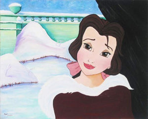 Belle is outside the castle on a cold winter day, she realizes she has fallen in love with the Beast.