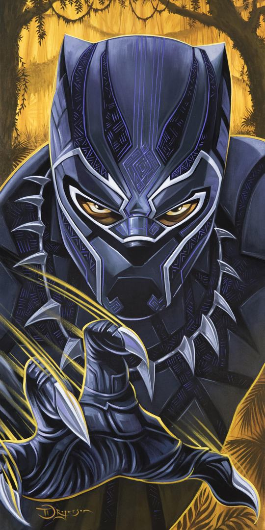 Black Panther Forever - Marvel Art Mighty Mini
