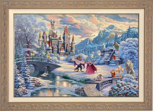 Beauty and the Beast's Winter Enchantment - Carrisa Frame