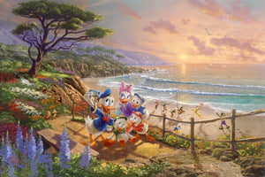 A bright sunshine highlights the coastal adventures of Donald Duck, Daisy Duck, and some of their dearest friends.