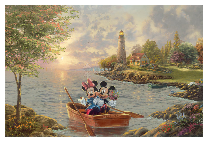 Mickey and Minnie Lighthouse Cove - Limited Edition
