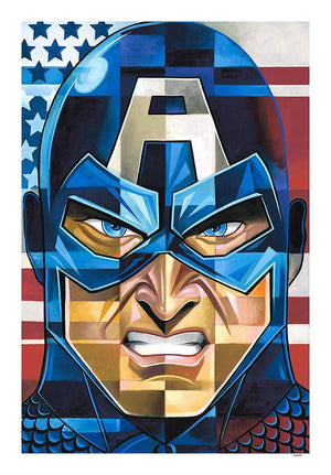 Captain America - Marvel Art Mighty Mini