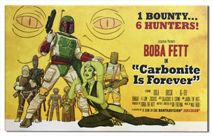 Boba Fett, 1 Bounty and 6 Hunters