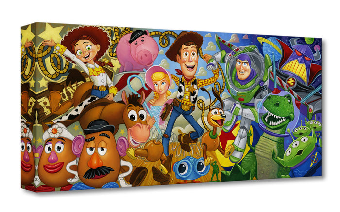Cast of Toys - Disney Treasures On Canvas