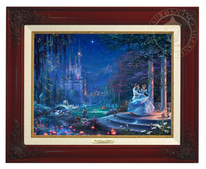 Cinderella Dancing in the Starlight - Cinderella's dreams have come true under the starlight Cinderella is dancing with her prince  - Brandy Frame