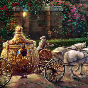 Cinderella's carriage - Closeup