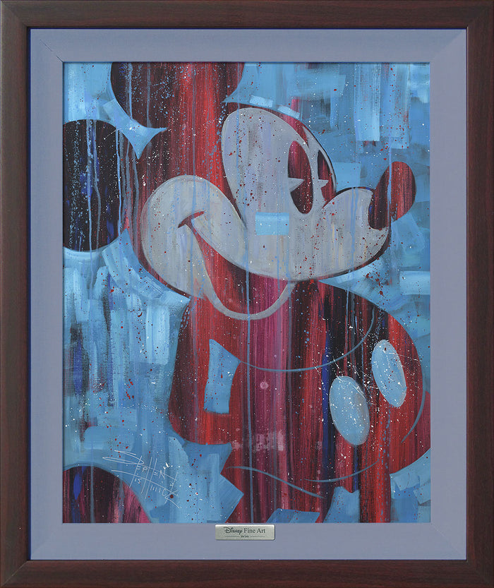 Cool Blue Mickey - Disney Silver Series