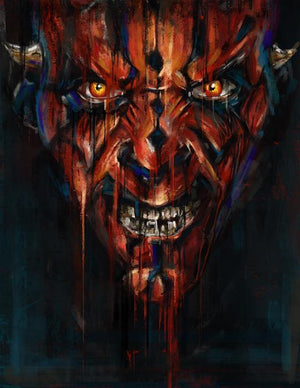 Portait of Darth Maul