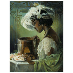 Tiana - in a realistic portrait from Disny's Princess and the Frog