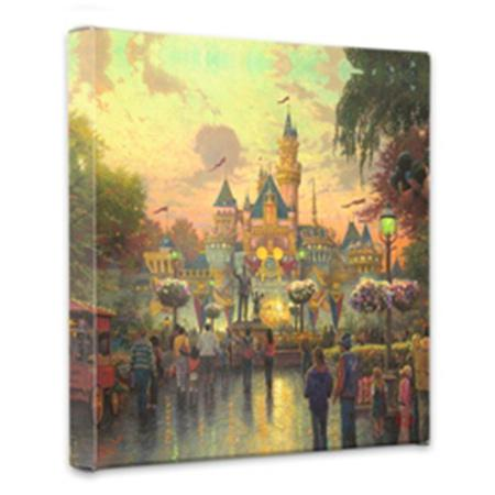 Disneyland 50th Anniversary - Gallery Wrapped Canvas