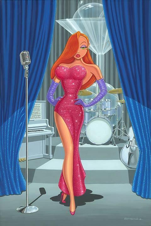Diva in a Red Dress - Disney Limited Edition