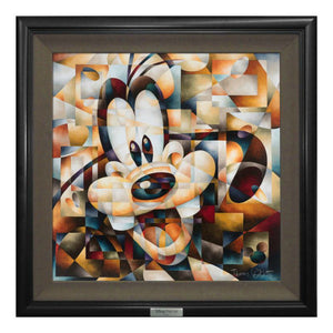 Don't Be A Square by Tom MatousekDon't Be A Square by Tom Matousek.  Portrait of Goofy all bright-eyed and all smiles.