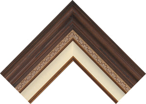 Dark Walnut - Corner Frame Sample