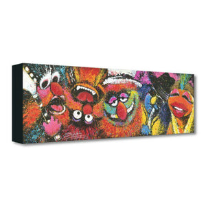 Electric Mayhem by Stephen Fishwick.  The Muppet Show -  five principal members of The Electric Mayhem -  Dr. Teeth, Janice, Animal, Floyd Pepper and Zoot.