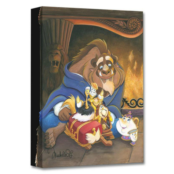 Family of Enchanted Things - Disney Treasures On Canvas