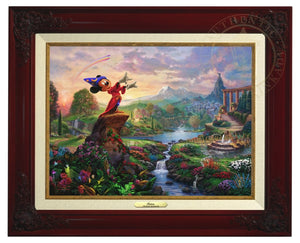 Mickey the sorcerer stands in the center of it, using his magic to orchestrate the sublime dance going on about him - Brandy Frame
