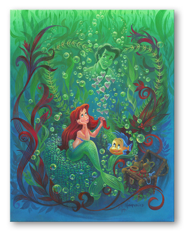Forever In My Heart - Disney Treasures On Canvas