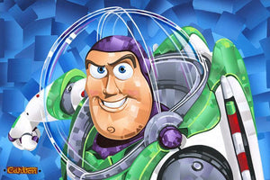 Buzz Lightyear- toy Space Ranger superhero from Toy Story