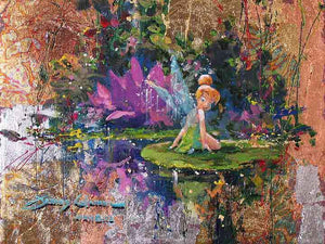Tinker Bell in the Golden Pond (SOLD)
