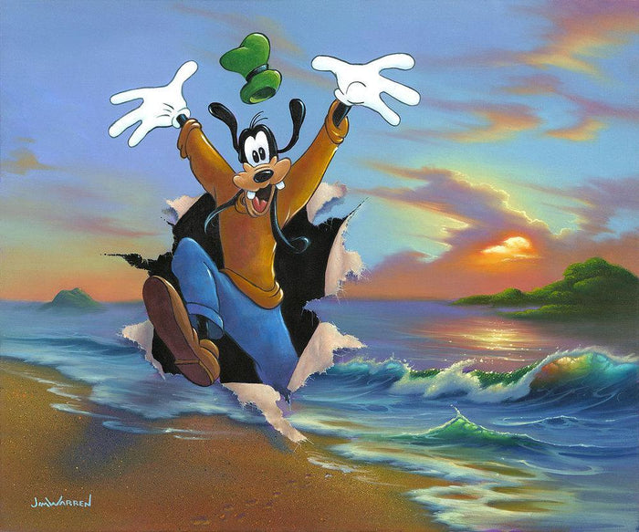Goofy's Grand Entrance - Disney Limited Edition